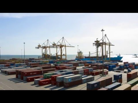 Port of Thessaloniki, Container terminal.