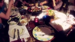 Raclette at Christmas 2011