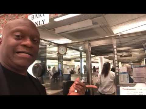 This Powell St SF BART Station Agent Thinks It's OK To Yell At Me When I Need Help