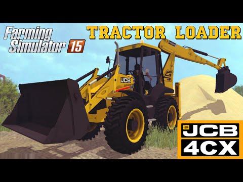 Farming Simulator 2015 Mod JCB 4CX Tractor Loader