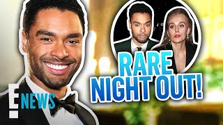 Regé-Jean Page & Emily Brown Spotted on Rare Night Out | E! News