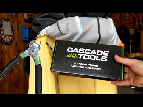 Hog Ring Pliers On Car Upholstery Review Of Cascade Supply And DIY Directions