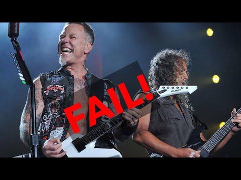 Metallica live epic fail Birmingham power outage!