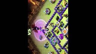 Melhor ataque já visto em guerras no Clash Of Clans #SQN