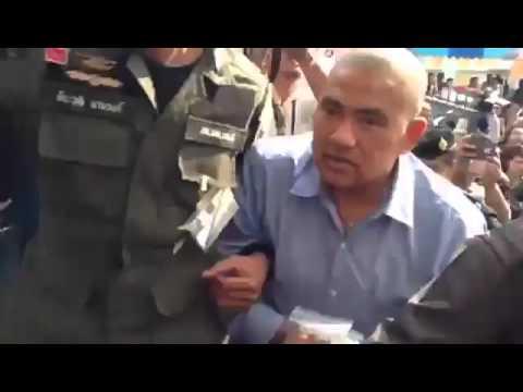 """คุมตัว """"หมอหยอง-พ.ต.ต.ปรากรม-จิรวงศ์"""" 3 ผู้ต้องหา คดีม.112 ฝากขังศาลทหาร: Matichon TV"""