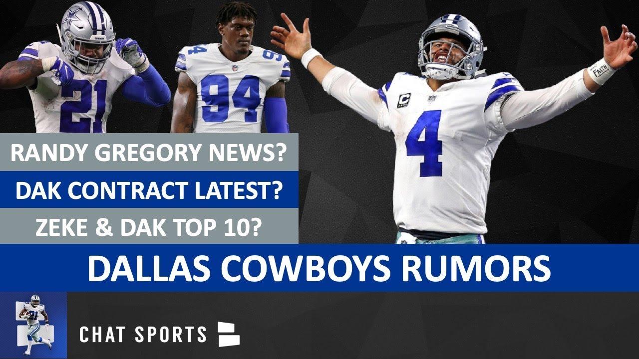 Cowboys Rumors: Dak Prescott Contract, Dak Top 10 QB, Randy Gregory, Ezekiel Elliott & David Irving?