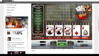 Deuces Wild Slot Machine - Play for free no deposit game