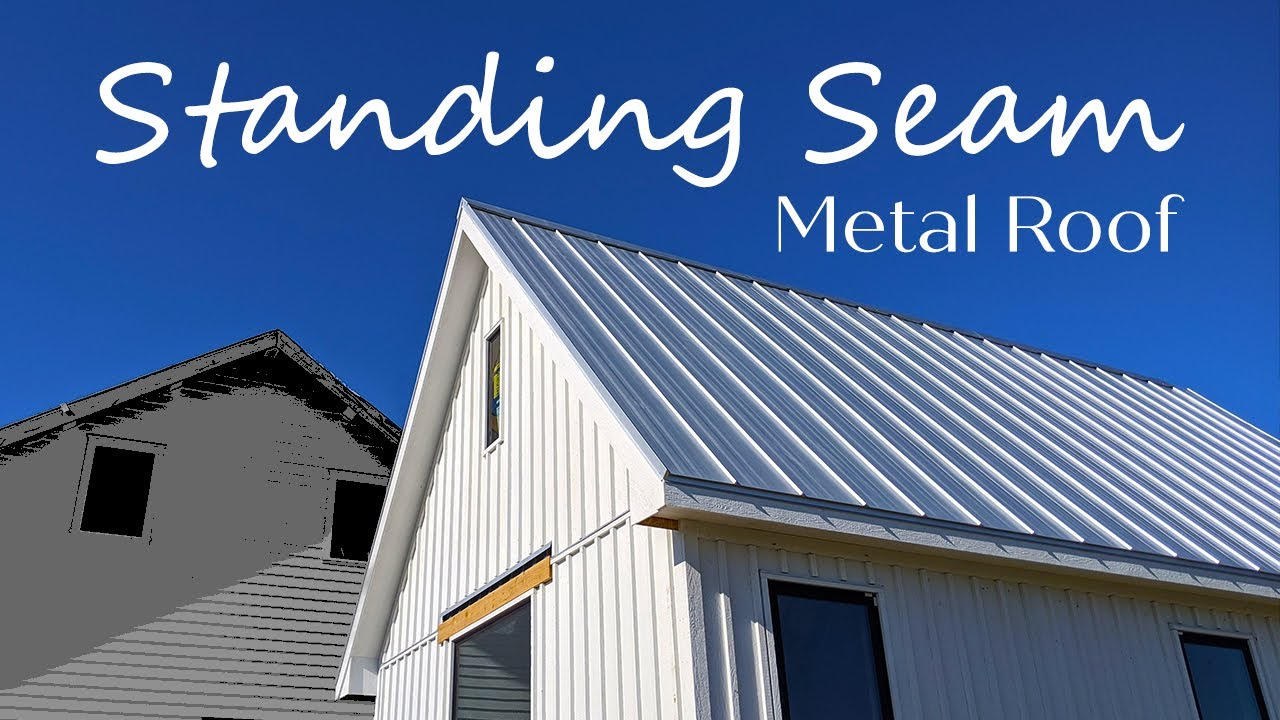 Standing Seam Metal Roof Installation And Benefits Youtube