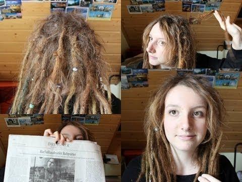 Nachher vorher dreadlocks frauen Lange Haare