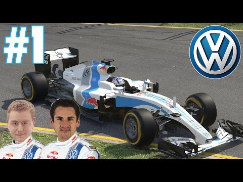 Volkswagen F1 Career Mode Part 1: Australia