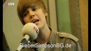 Justin Bieber - That Should Be Me - 1Live Acoustic Set - May 20, 2010 - Cologne, Germany