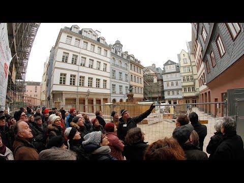 """""""Neue"""" Frankfurter Altstadt: Hochbetrieb auf dem Krönungsweg"""