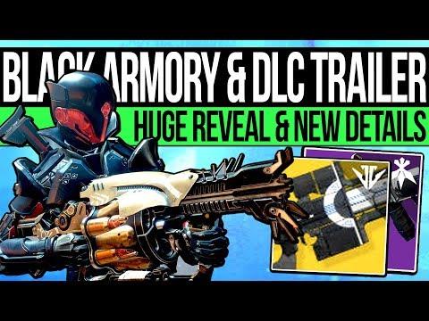 Destiny 2   BLACK ARMORY TRAILER & EXOTICS REVEALED! The Last Word, 650 Power, Xur Bounties & Events thumbnail