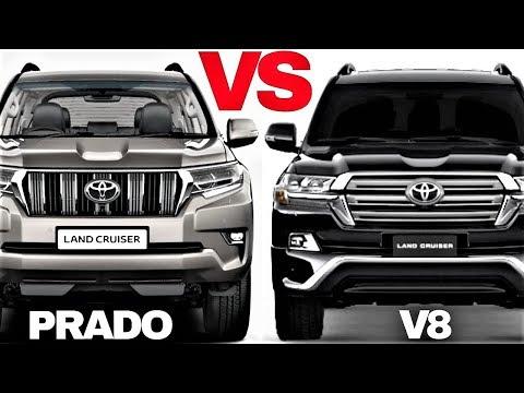 Land Cruiser V8 VS Land Cruiser Prado ! Off Road Comparison