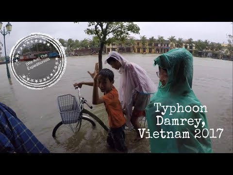 Our experience stuck in Typhoon Damrey, Hoi An, Vietnam, 2017
