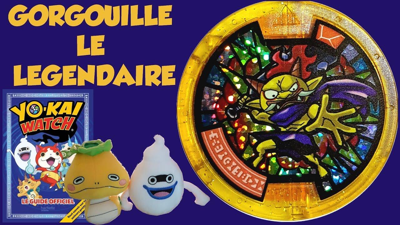 M daillon l gendaire gorgouille et guide officiel hachette for Porte medaillon yokai watch