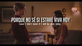 Don't Leave Me Alone - David Guetta ft Anne-Marie   LYRIC VIDEO (Letra en Español e Inglés)