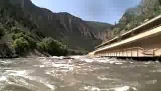 Raft flips in Shoshone, Colorado River