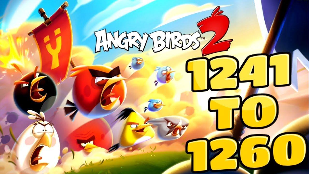 Angry birds 2 cobalt plateaus piggymanjaro levels 1241 to - Angry birds trio ...