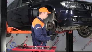 Kuinka vaihtaa etu koiranluu BMW 7 E65 -merkkiseen autoon OHJEVIDEO | AUTODOC