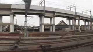 【車窓】 特急北越6号 (新潟→金沢・山側) 【大長編】