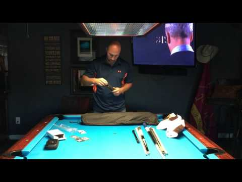 Unboxing the New Pool Cues Pt 1