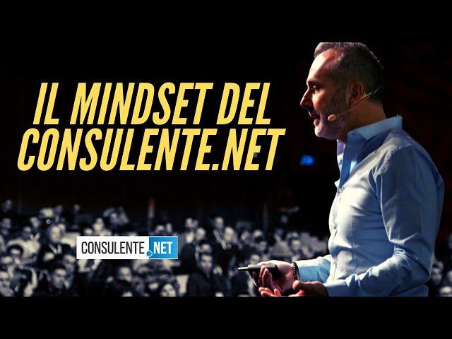 IL MINDSET CORRETTO DEL CONSULENTE.NET