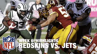 Redskins vs. Jets | Week 6 Highlights | NFL