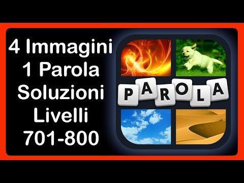 4 Immagini 1 Parola - Livelli 701 - 800 [HD] (iphone, Android, IOS)