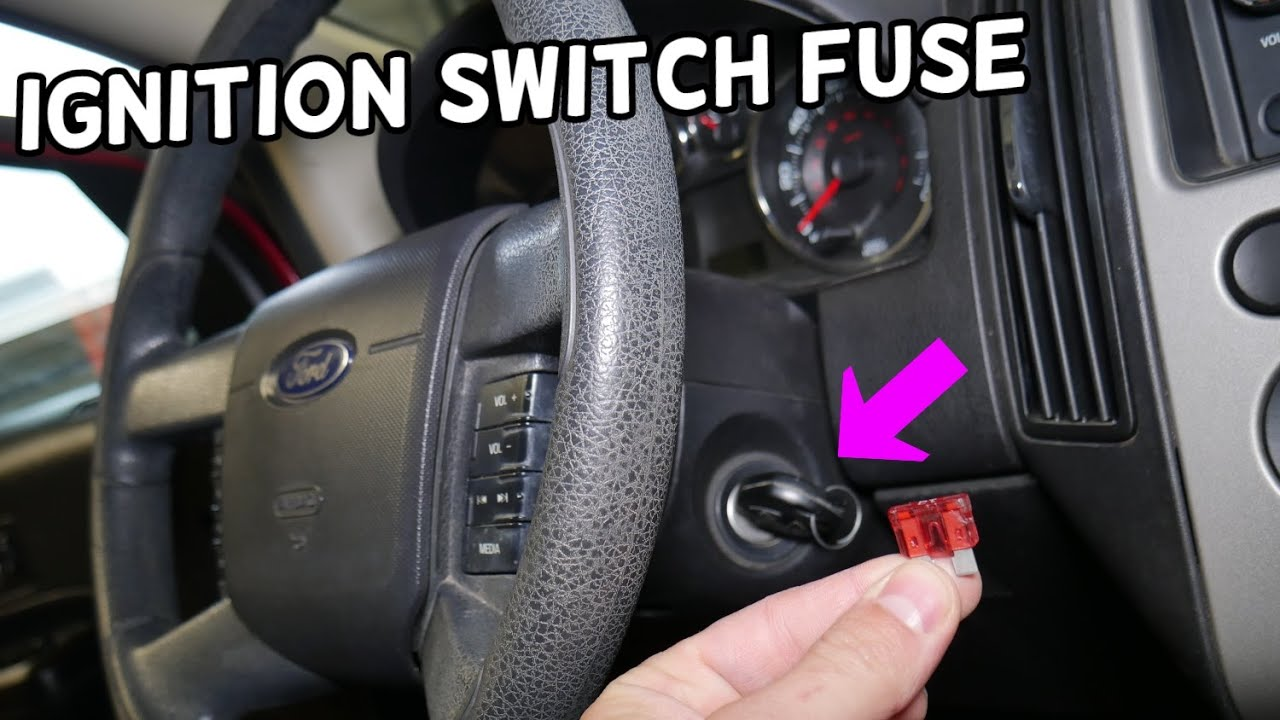 Ford Edge Ignition Switch Fuse Location Replacement Ford Edge Not