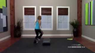 Step aerobics great choreography with Ashli - 60 Minutes