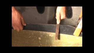 How to Sharpen a Machete  [HD]
