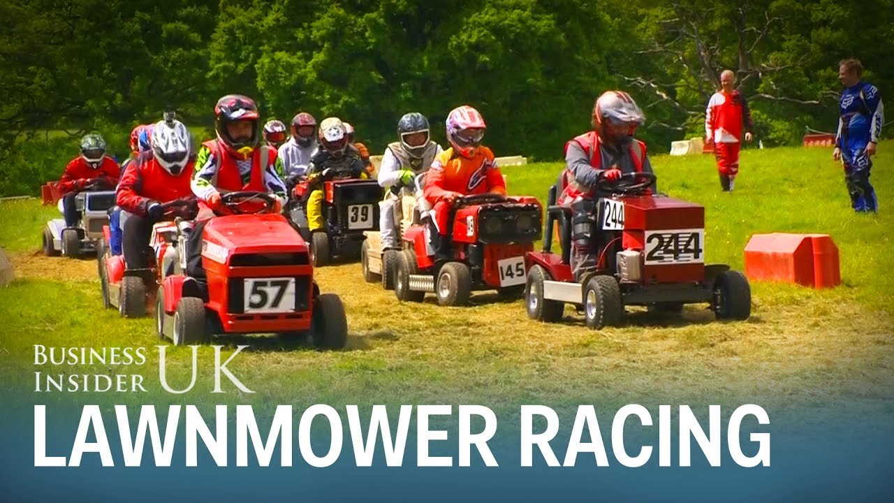 Lawn Mower Racing >> Britain Just Held A Lawn Mower Racing Championship Here S What It S Like