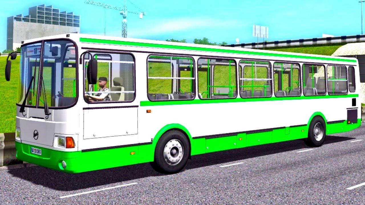 a4aee650a35 City Car Driving 1.5.3 Liaz 5256.26 Bus - G27 HD [1080p][60fps ...