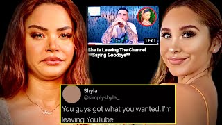 Shyla DRAGGED Catherine McBroom then QUITS YouTube Over &#39HATE&#39