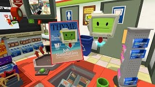 Job Simulator Gameplay - Convenience Store Clerk - HTC Vive