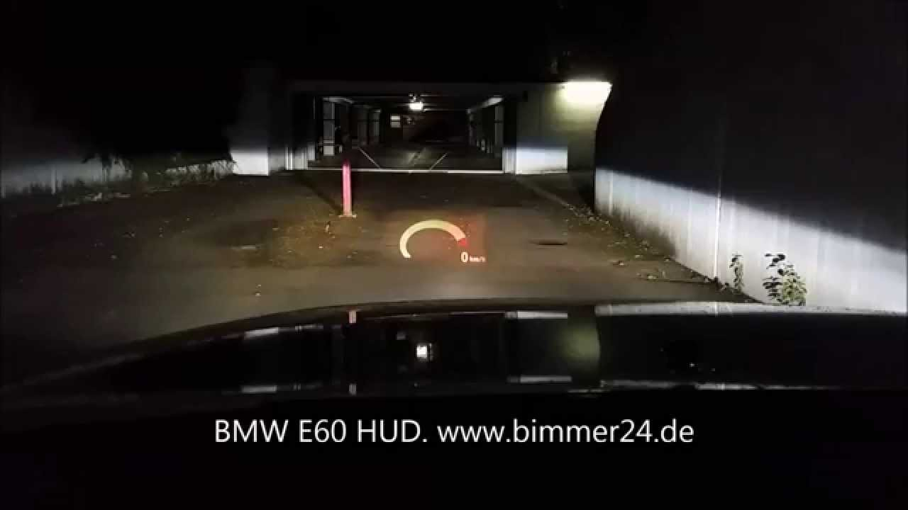 bmw e60 head up display hud m hud drehzahl anzeige. Black Bedroom Furniture Sets. Home Design Ideas