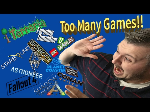 Stream Time Management and Too Many Video Games!! Episode 23