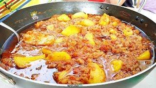 100 - Stoccafisso con patate alla livornese..troppo bene mi ci prese!(piatto di pesce saporitissimo)