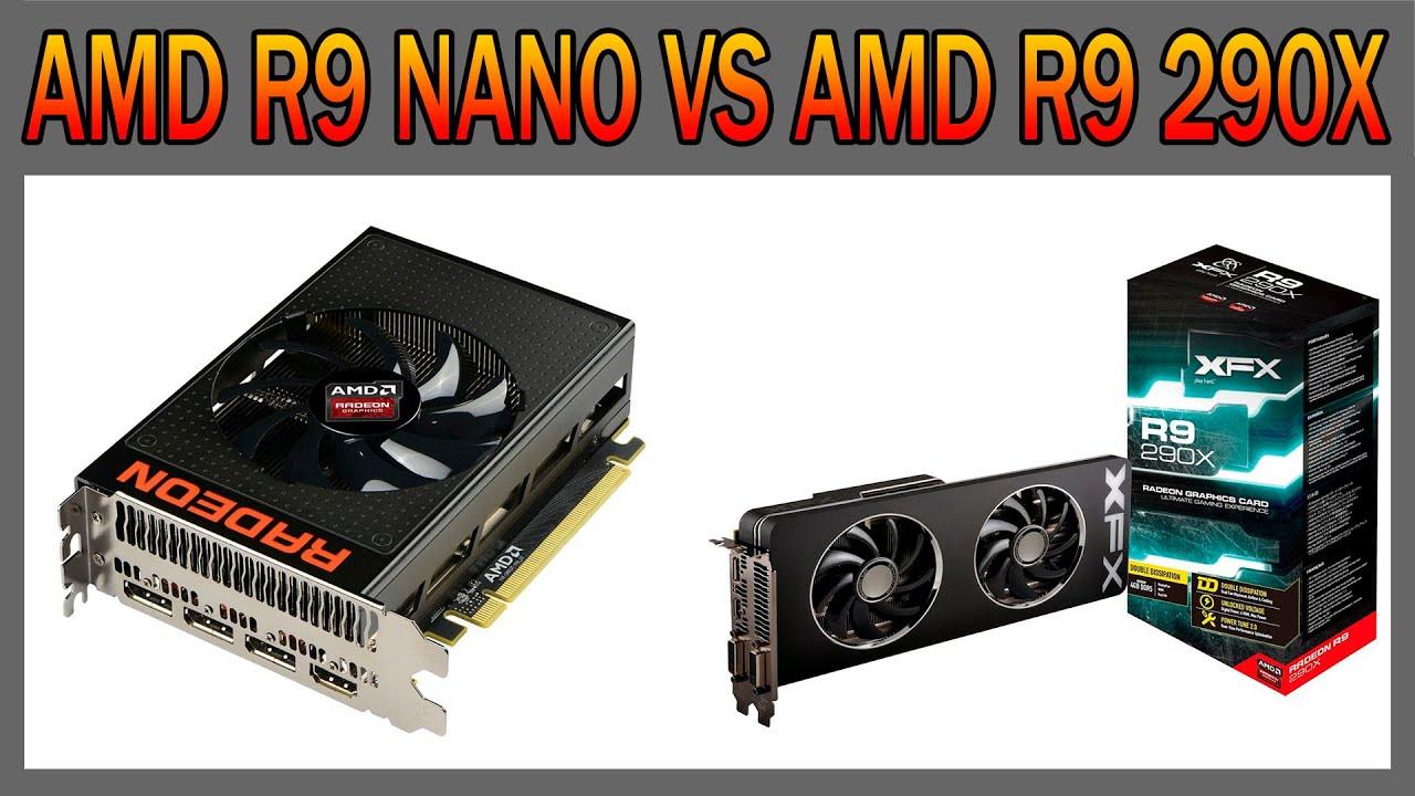 AMD R9 NANO VS AMD R9 290X - Full HD e 4K (Desempenho em Jogos)