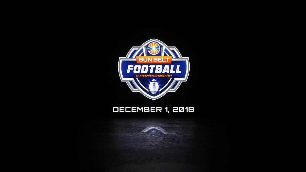 sun belt conference football championship game logo