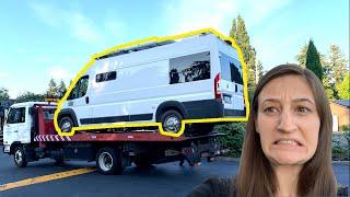 Van Life DISASTER | Van Breakdown