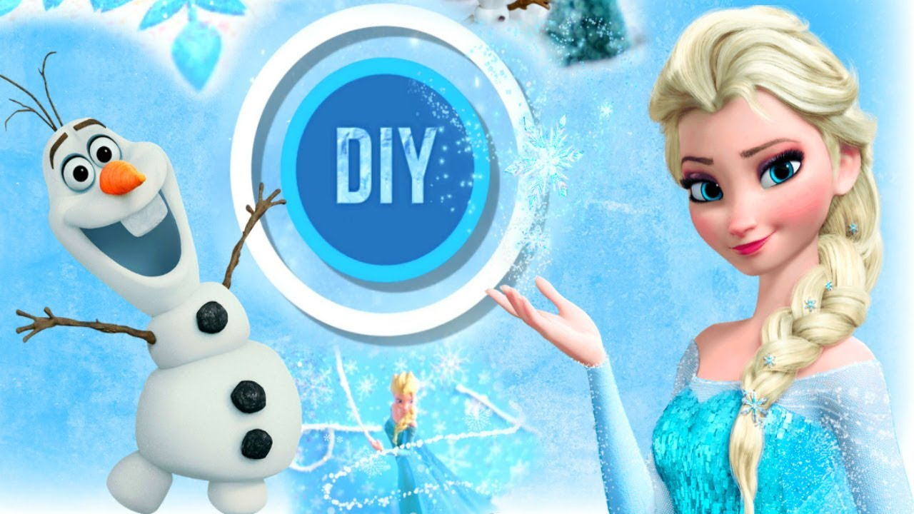 diy deco disney facile la reine des neiges frozen room decor youtube. Black Bedroom Furniture Sets. Home Design Ideas