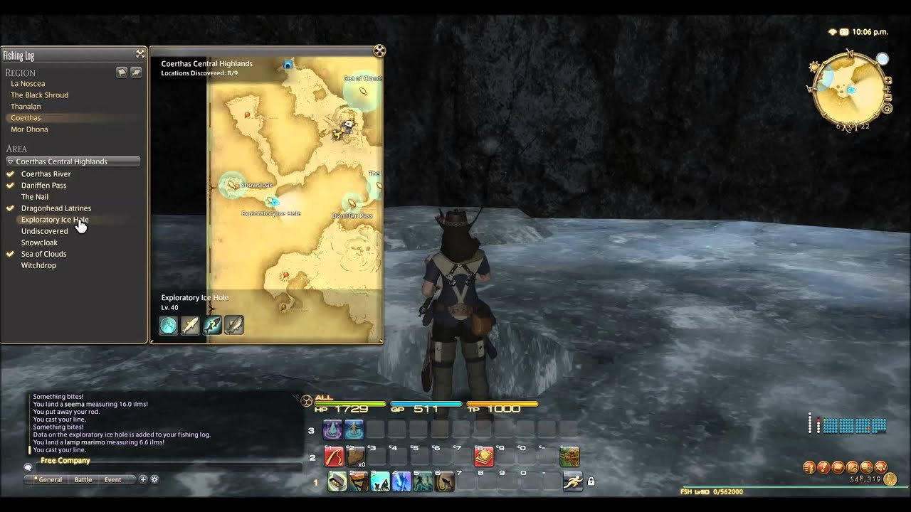 Ffxiv arr fishing for profit guide iii level 35 45 for Ffxiv fishing guide