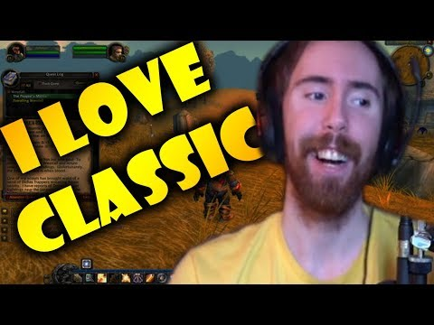 "Asmongold Watches ""WHY I LOVE CLASSIC WORLD OF WARCRAFT - Part 1"" By Nixxiom"