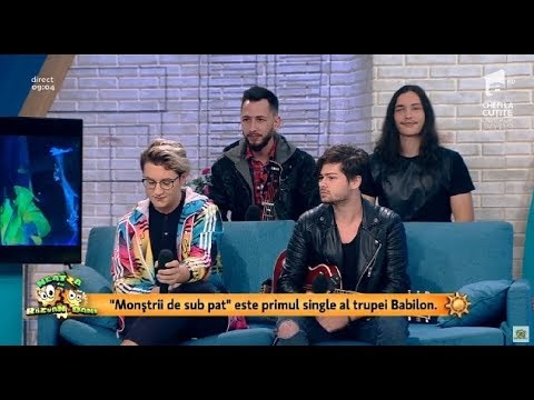 """Trupa Babilon și-a lansat primul single: """"Urmează să cântăm la un eveniment de chimie"""""""