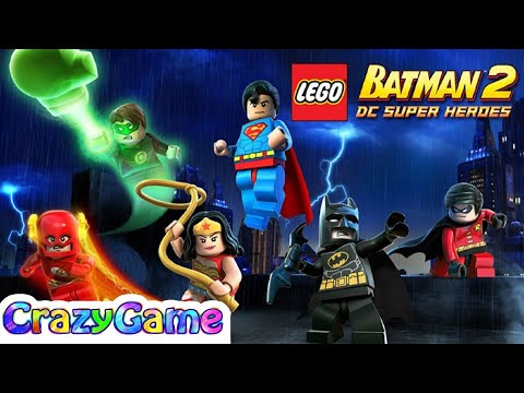 LEGO Batman DC Super Heroes Full Game Movie - All Cutcenes
