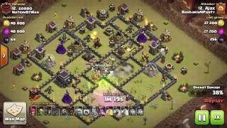 Clash Of Clans - Shattered HoBo - Common Th9 war base