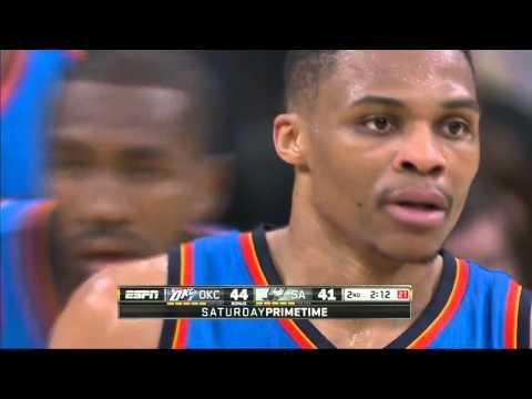 Oklahoma City Thunder vs San Antonio Spurs | March 12, 2016 | NBA 2015-16 Season