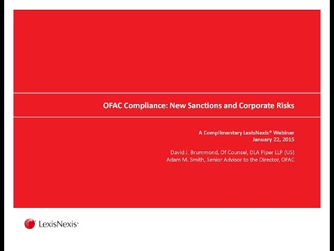 OFAC Compliance: New Sanctions and Corporate Risks